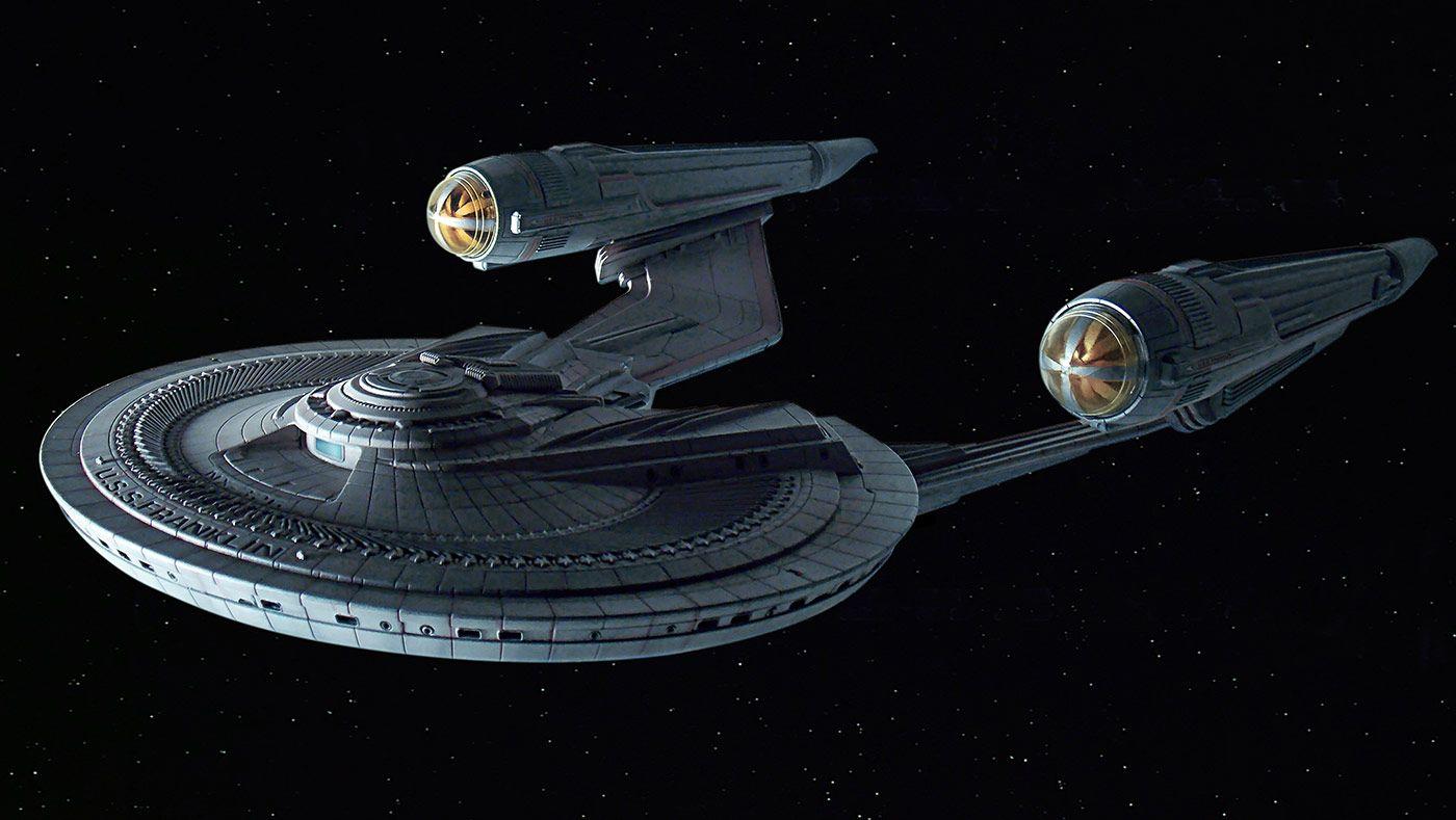 More Images of Moebius Models' USS FRANKLIN Kit | TrekCore ...
