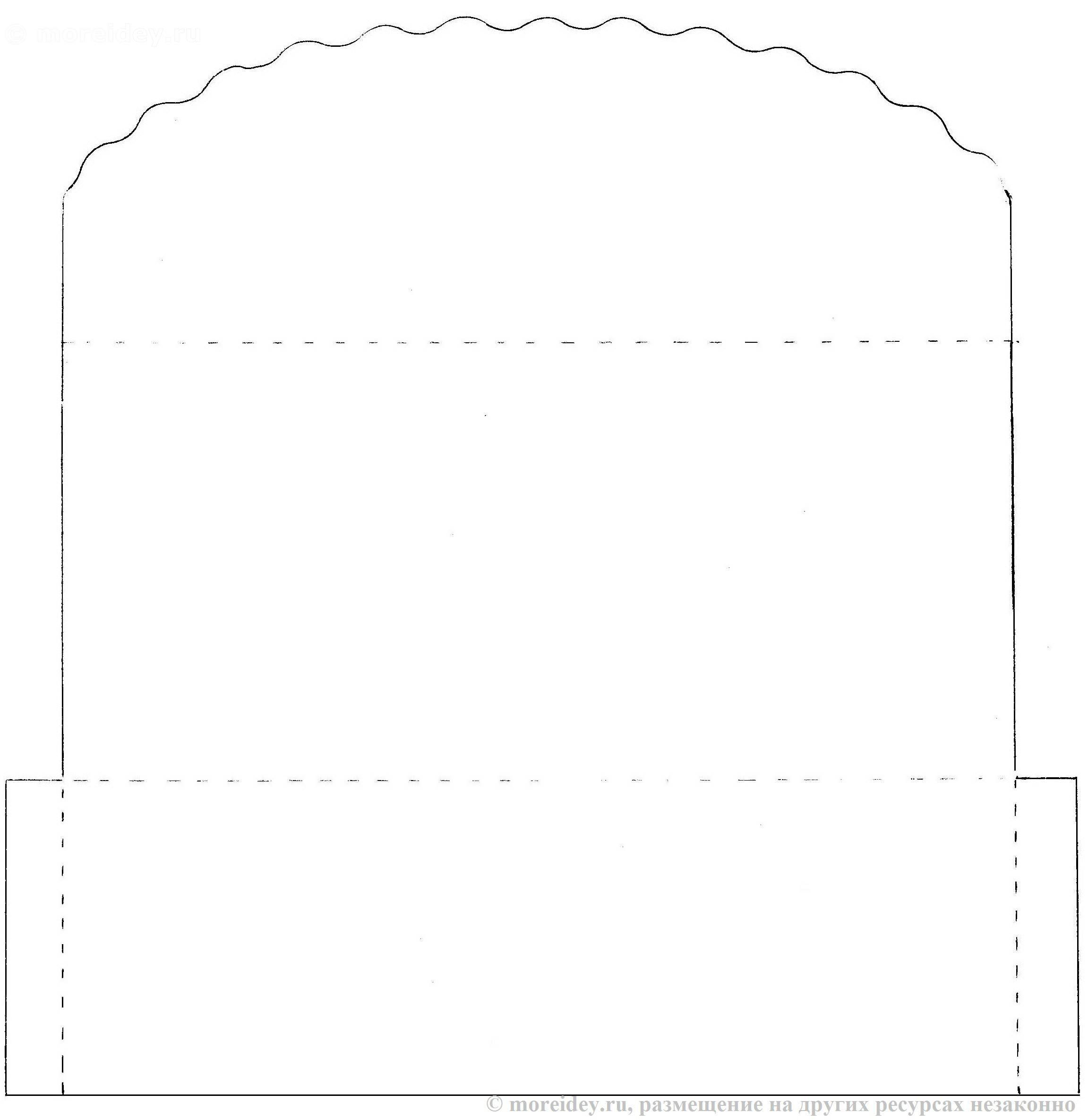 Схема конверта для денег фото 810