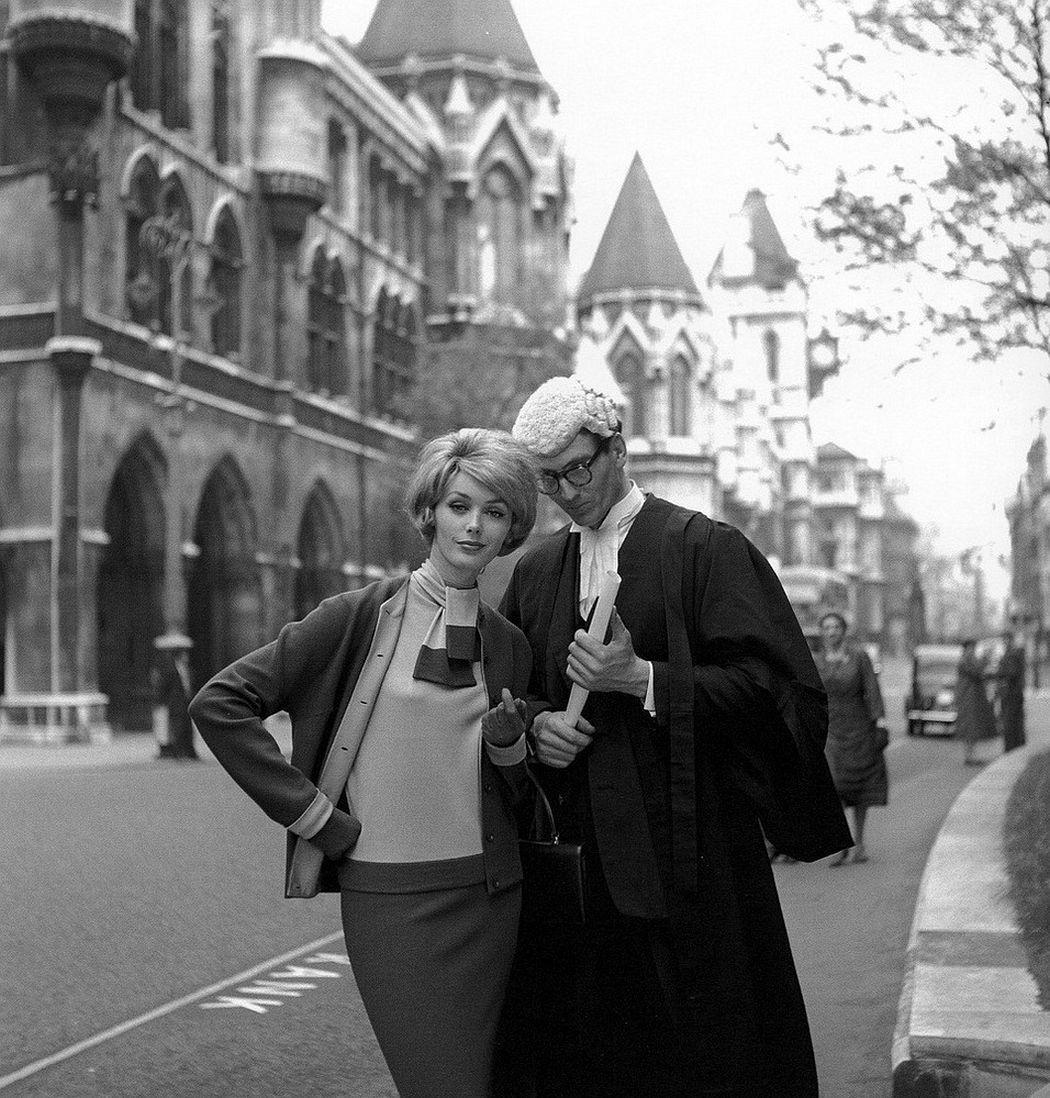 Lucinda Hollingsworth, London, 1959. © Dambier
