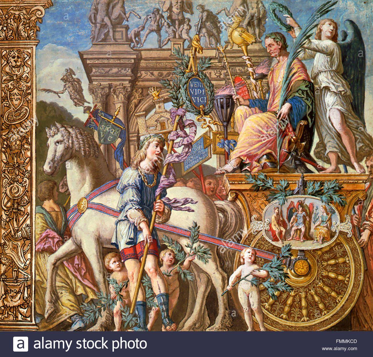 Download This Stock Image The Triumph Of Julius Caesar