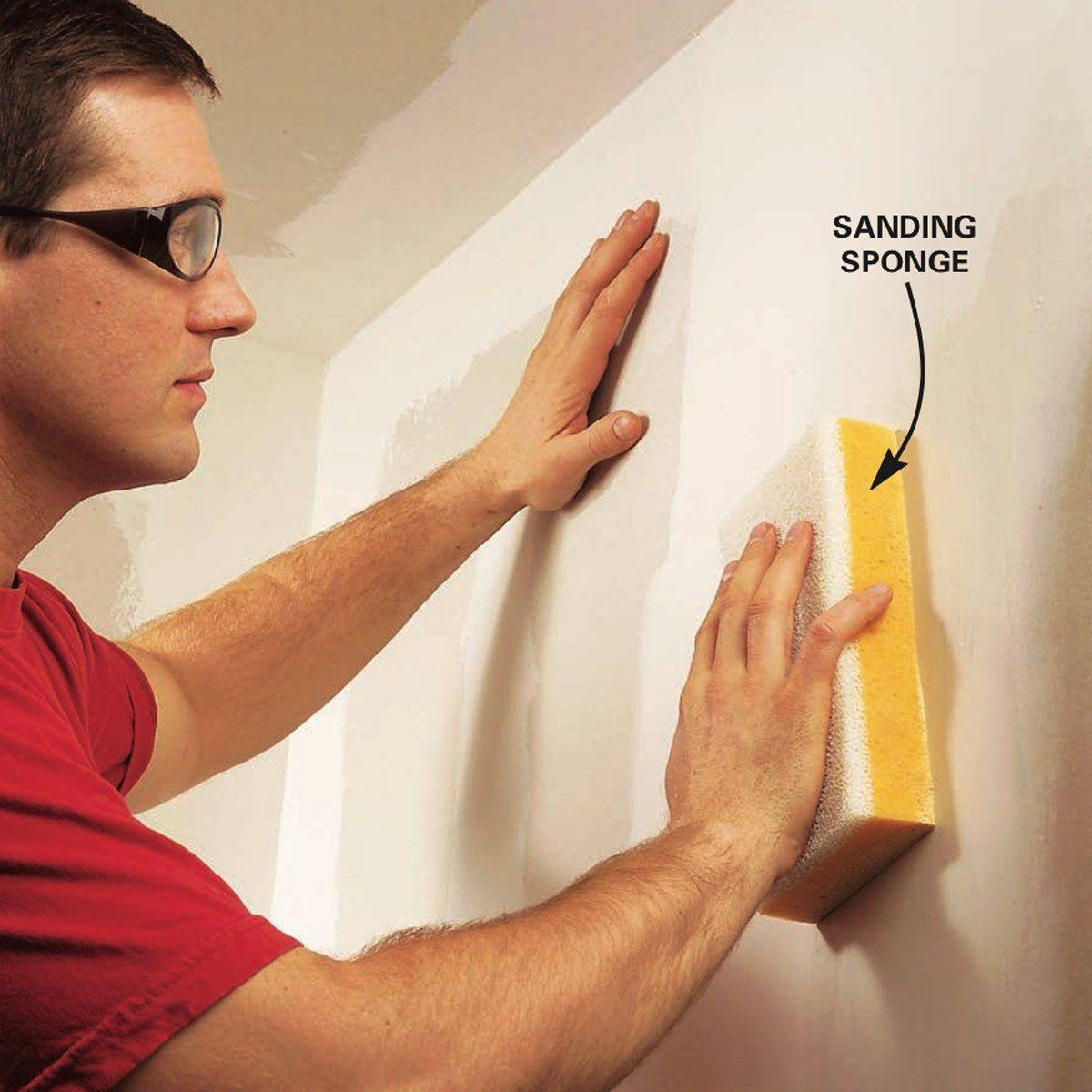 Wet Sanding Drywall Drywall Sanding Sponges Drywall Repair