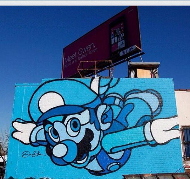 Mario by David Flores - on Melrose, LA, CA (LP)