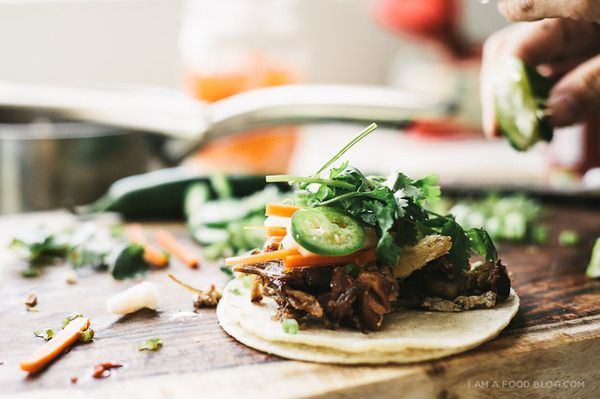 Best of Both Worlds: How to Make Bahn Mi Tacos