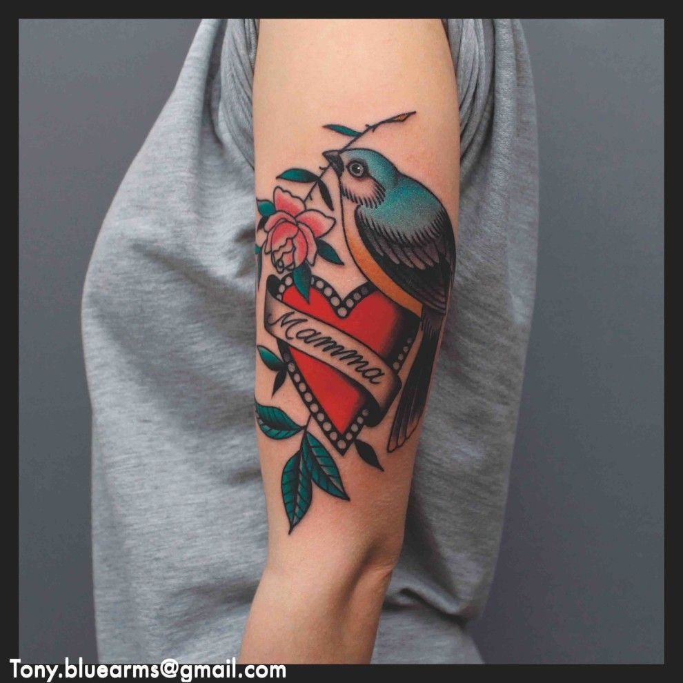 Though Old School American Tattoos Took Off In The 1930s Tattoos Have Been In American Culture Since The Late 1800s Classic Tattoo Tattoos Becoming A Tattoo Artist