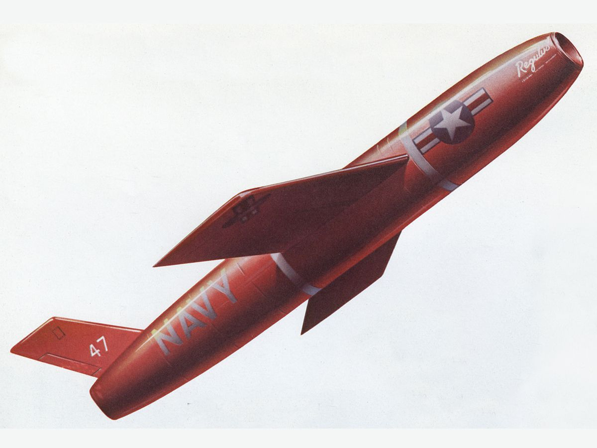 This Nuclear-Capable 1950s Missile Once Delivered the U.S. Mail - The Drive