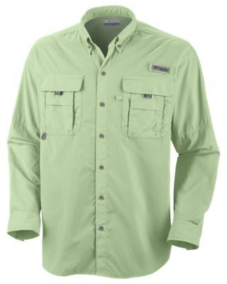 ebbb94ab254 Columbia Bahama II Long Sleeve Shirt with Omni-Shade for Men - Key West - S