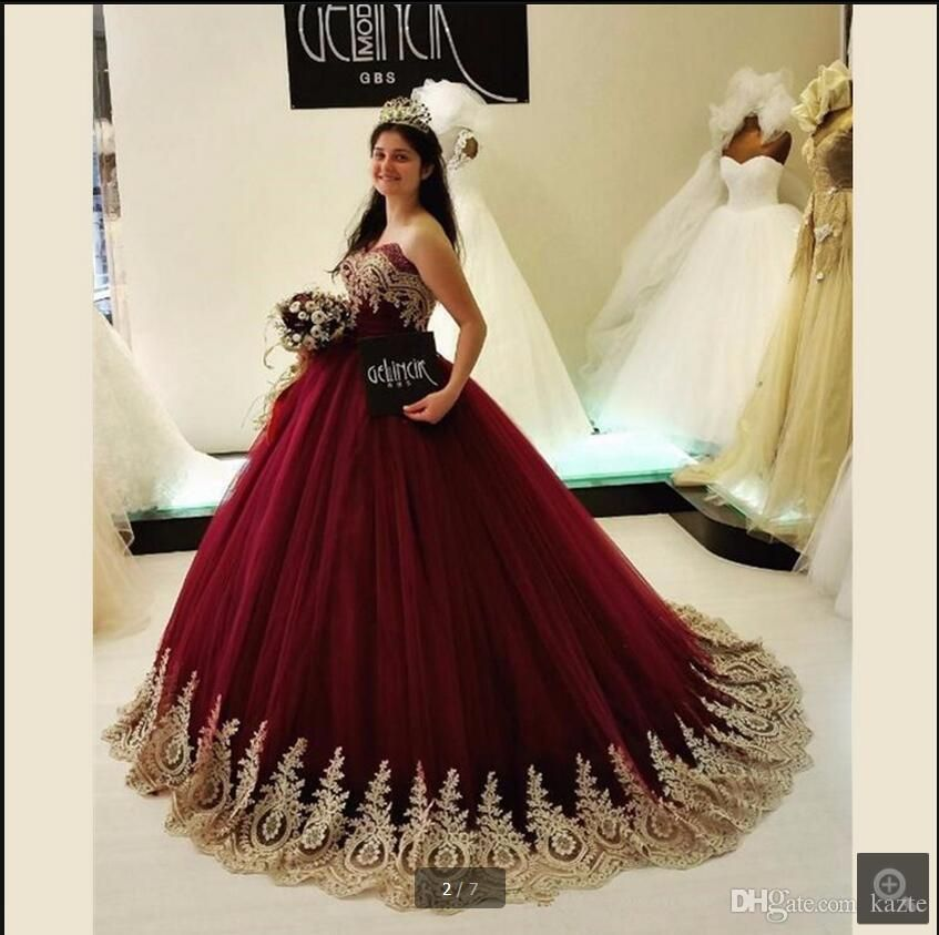 saudi arabia burgundy ball gown princess prom dresses sweetheart