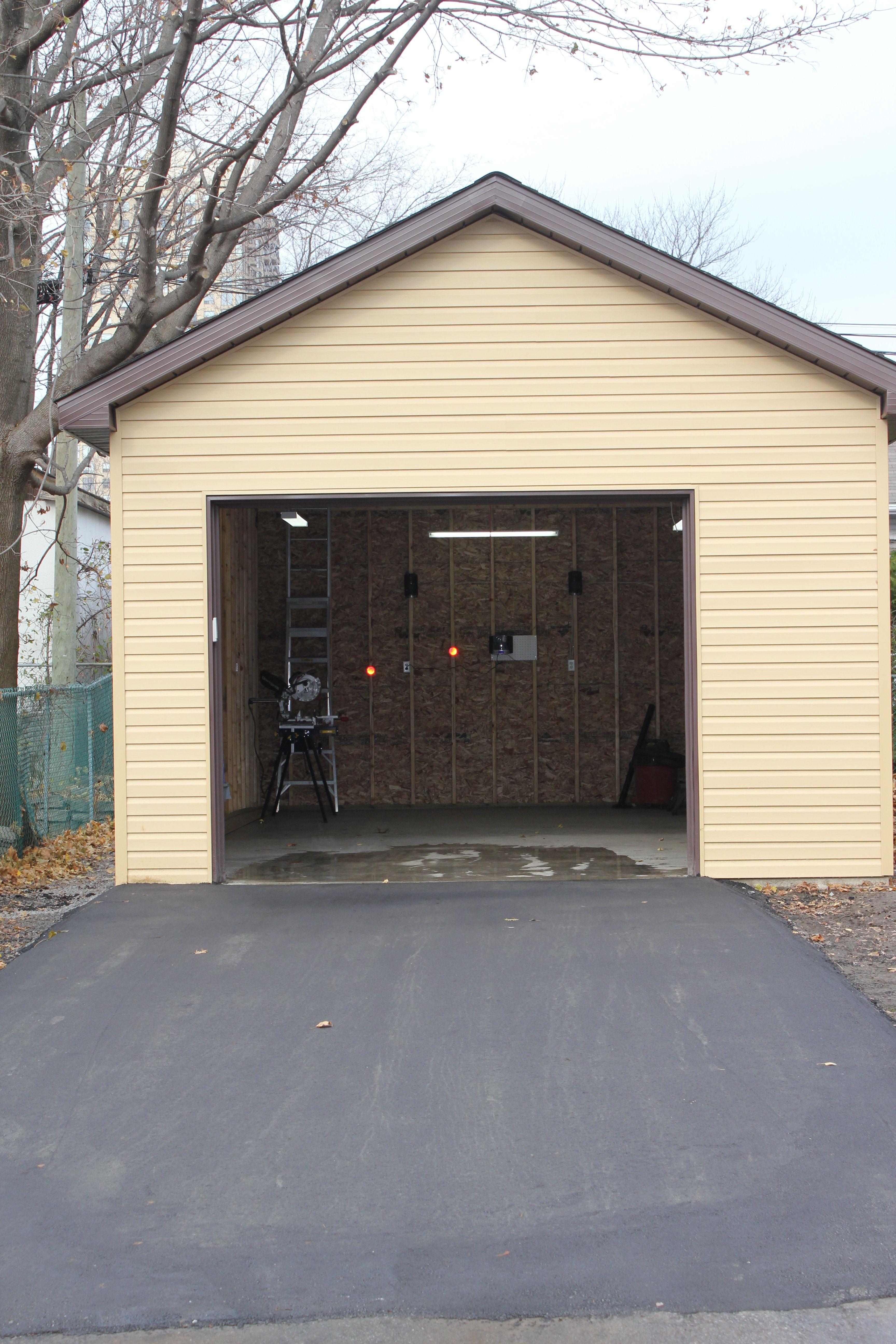 Custom Garage Epoxy Floor Designs: 16' X 30' Custom Garage Project By NCS