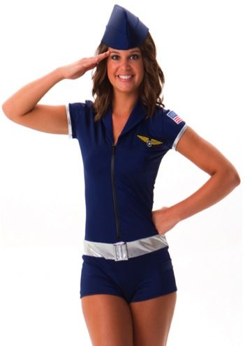 sexy airforce costume