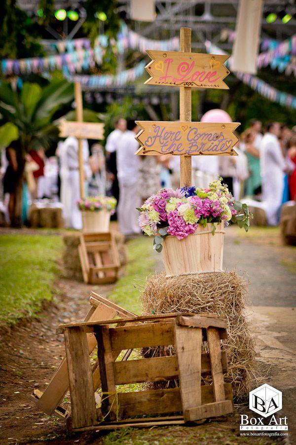 Organizaci n de bodas en cali detalles vintage para tu for Decoracion rustica campestre