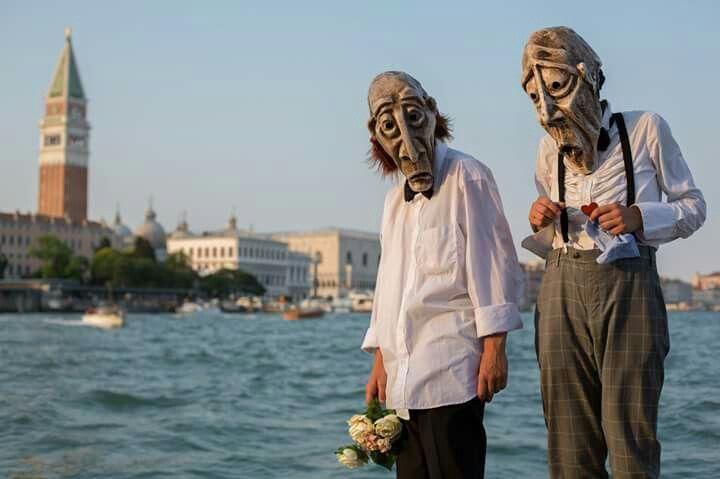 Artisti di strada a venezia