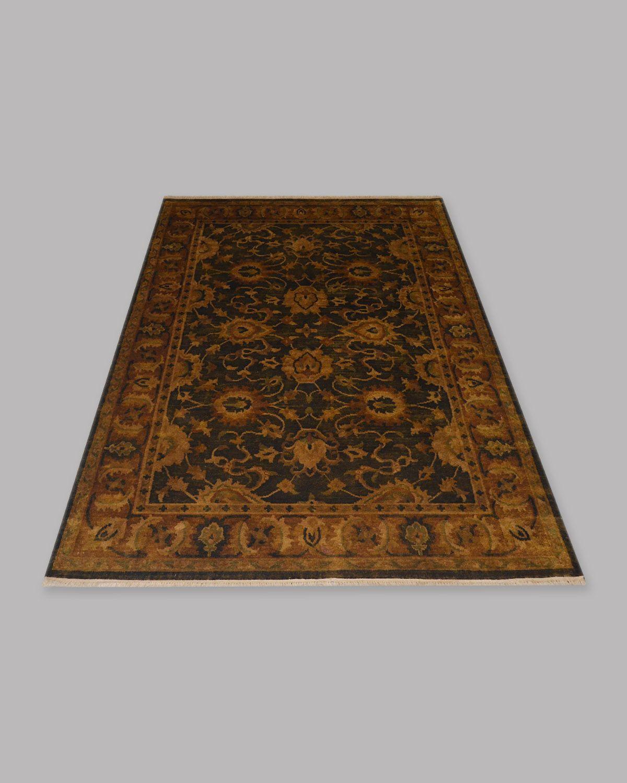 Hand knotted woollen carpet