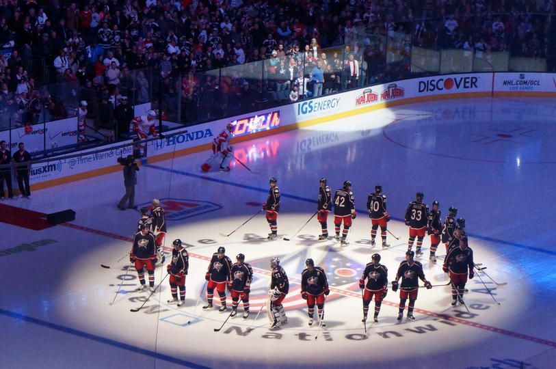 Opening Night! Blue Jackets vs. Red Wings - 01/21/2013 - Columbus Blue Jackets - Photos
