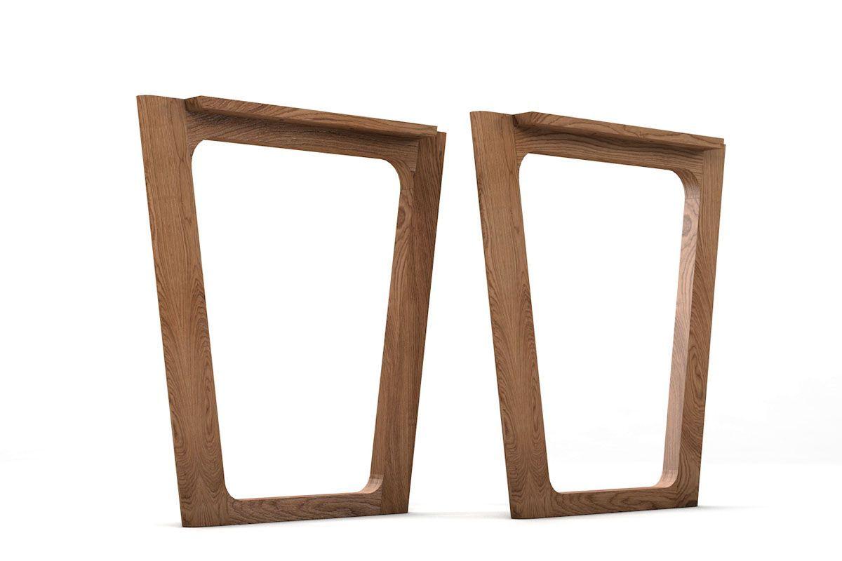 Tischgestell Holz nach Maß | Tischgestelle & Tischbeine aus Stahl ...