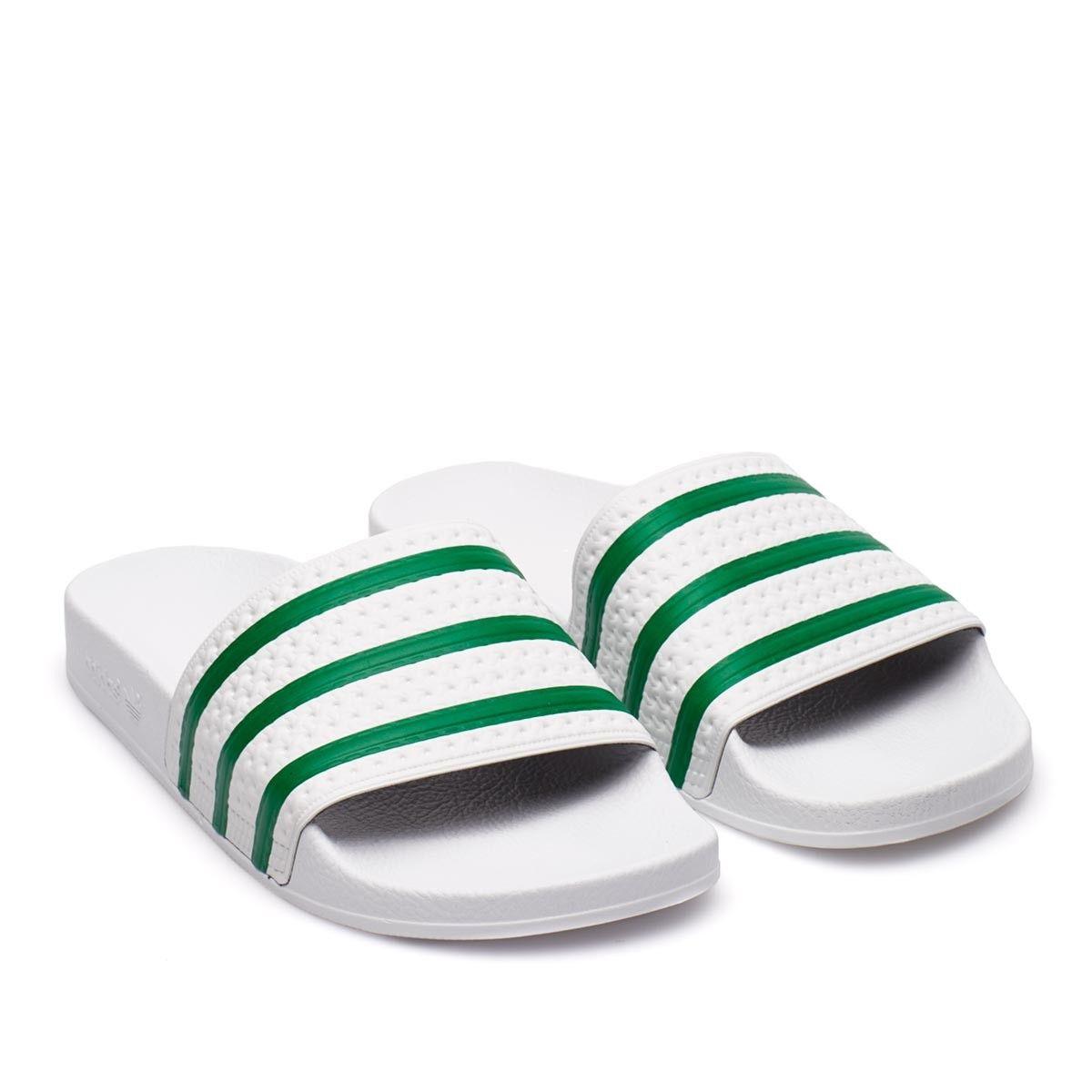 adidas adilette bianche e verdi