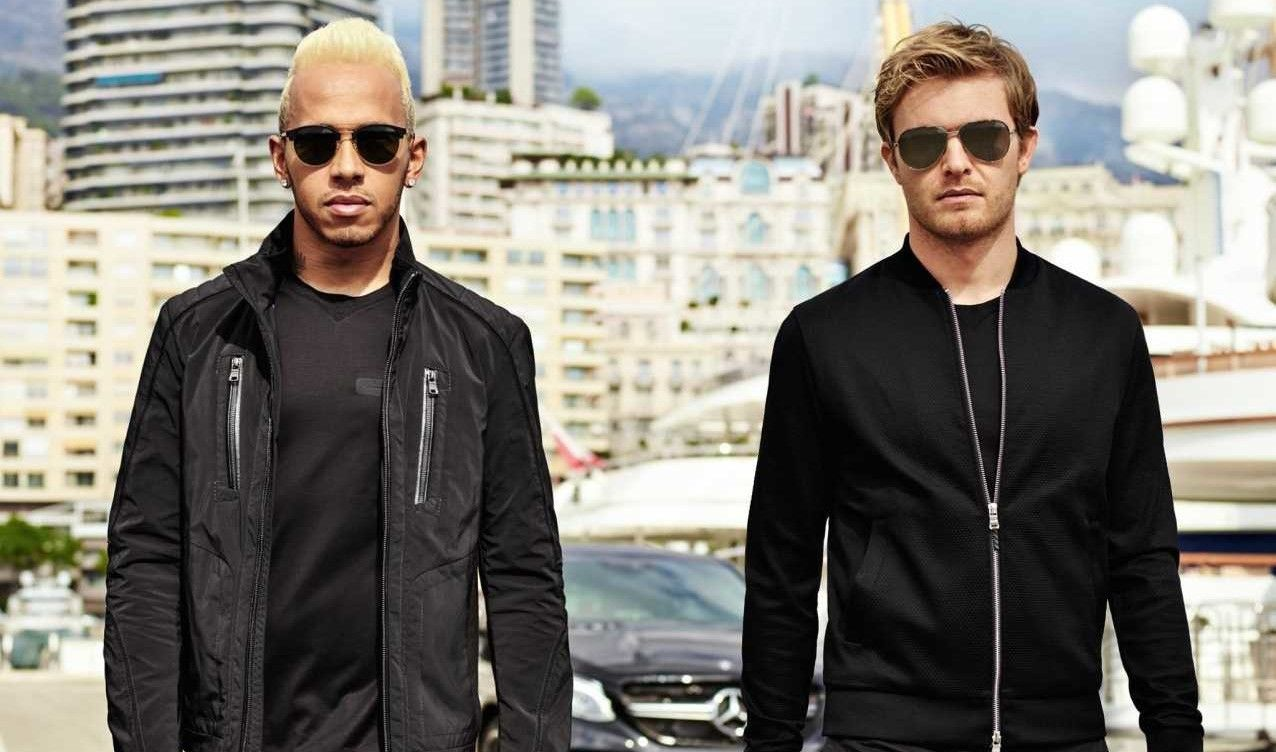 Hugo BOSS and Mercedes-Benz Team Up for Race Inspired Clothing Line