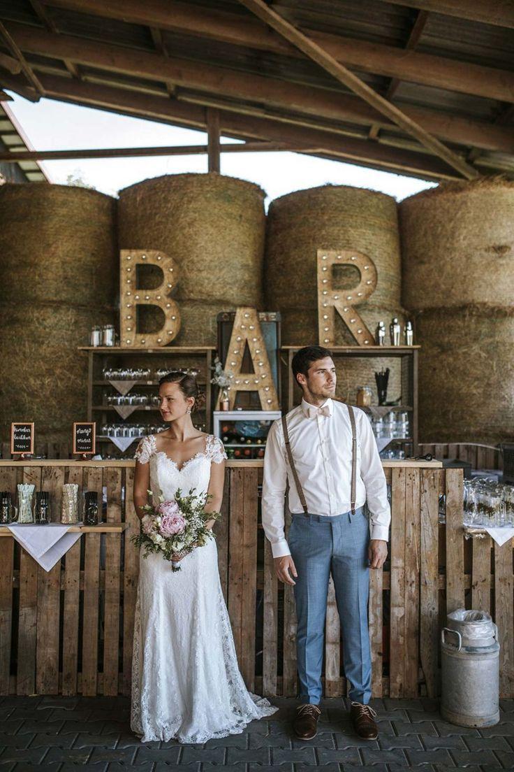Mira & Andreas: Rustikale Scheunenhochzeit #barnweddings