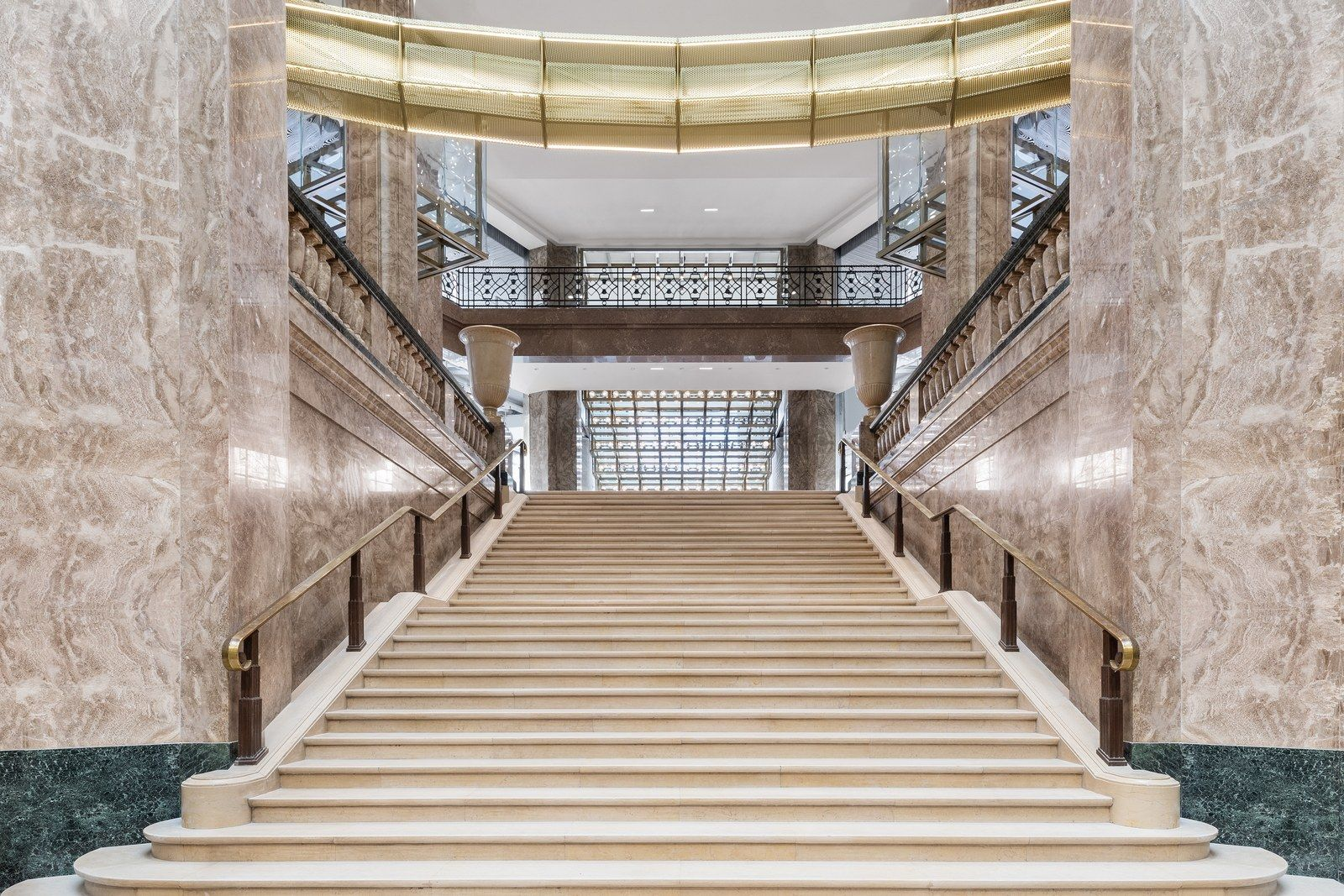Bjarke Ingels S New Galeries Lafayette Fuses Historic And Contemporary Styles In Paris Paris Galeries Lafayette Types Of Architecture