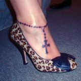 rosary tattoo -- I want to get one similar to this on my ankle #rosaryfoottattoo...   - Music Tattoos #rosaryfoottattoos rosary tattoo -- I want to get one similar to this on my ankle #rosaryfoottattoo...   - Music Tattoos #rosaryfoottattoos