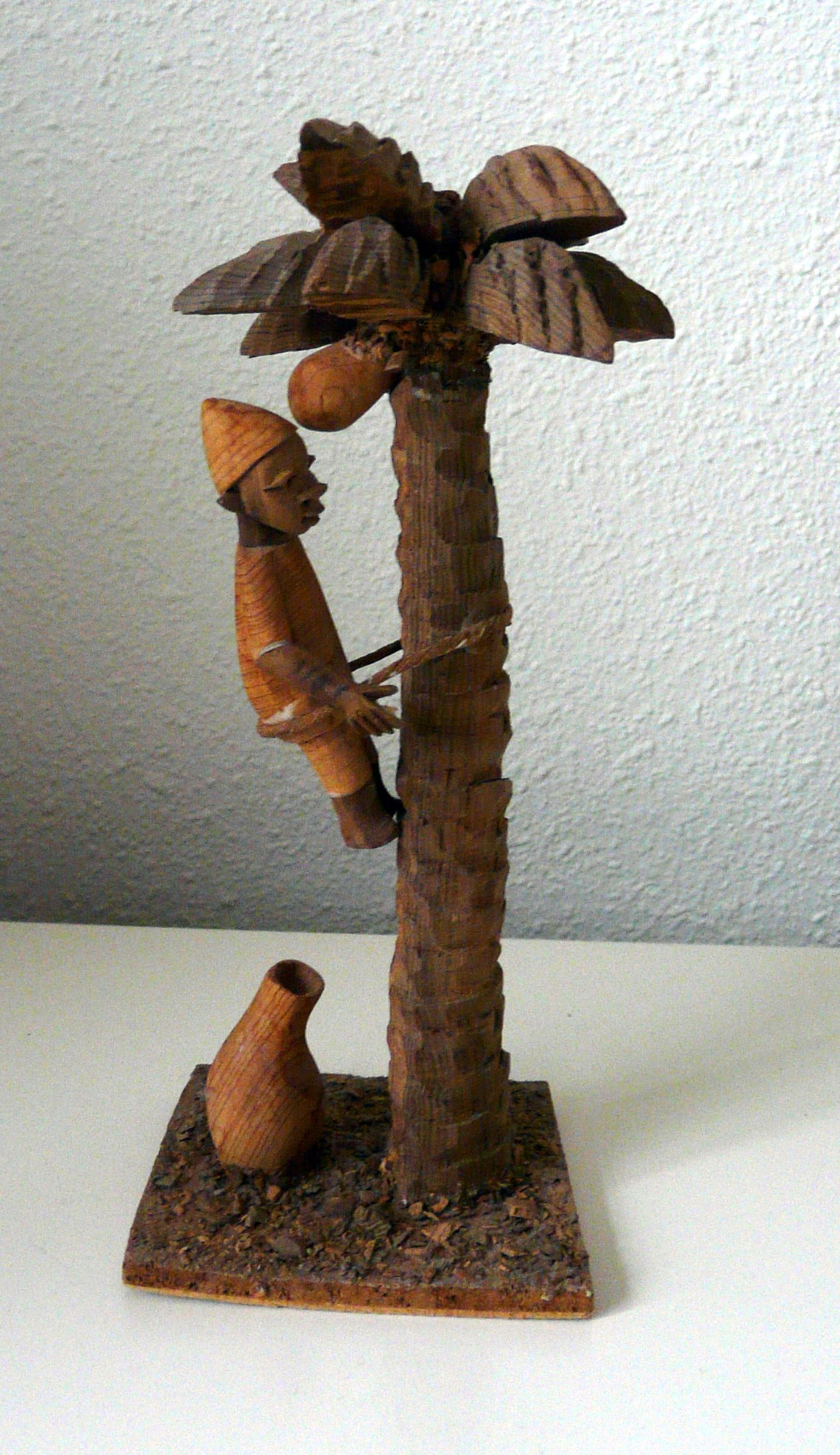 Rien Catherine Kateus collection my other thorn carving Yoruba