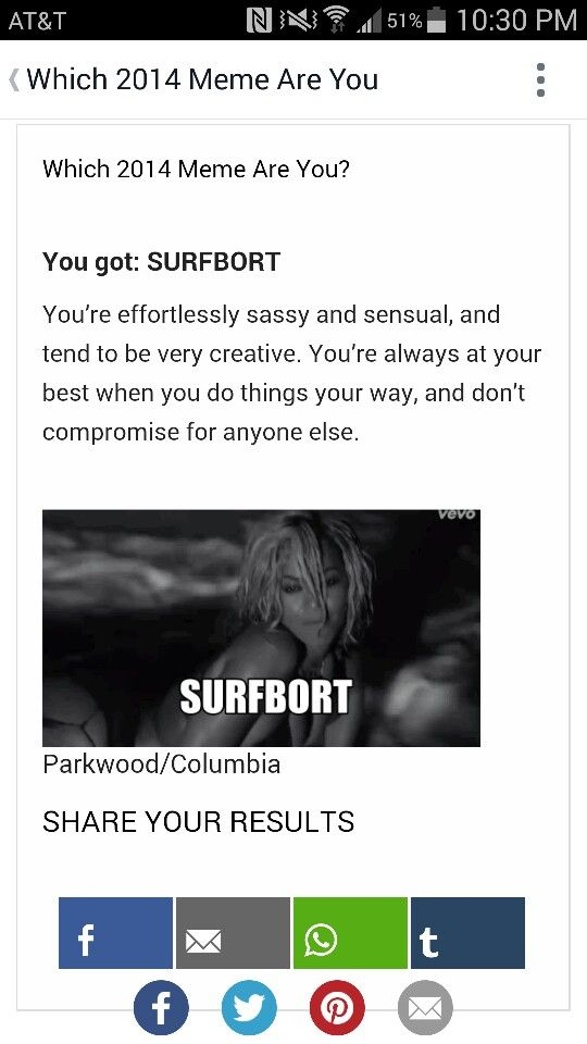 Surfbort Me According To Buzzfeed Buzzfeed Quizzes Learning