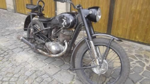 dkw izh 49 ij 49 oldtimer motorrad 350ccm in dresden. Black Bedroom Furniture Sets. Home Design Ideas