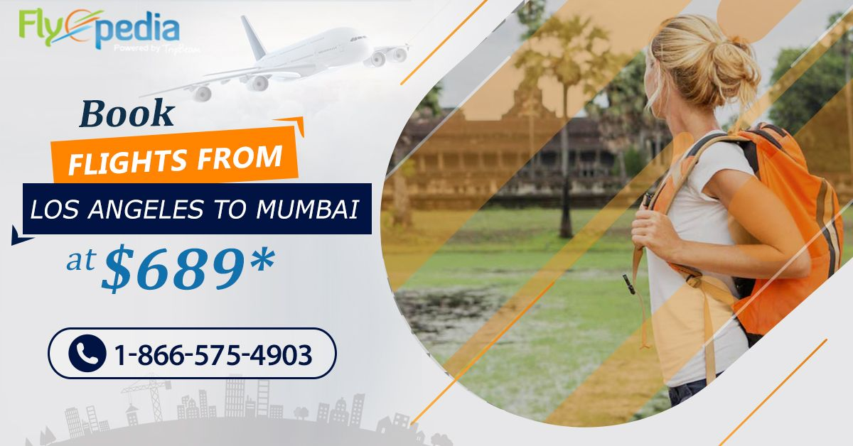 Looking for low-cost Mumbai flights? Visit from #LosAngeles to #Mumbai within your budget, and explore the best time and places to visit.  Contact us today!  For more information, call:- 1-866-575-4903 (Toll-Free).  #traveltomumbai #travellingtoindia #tourtomumbai #USAtoMumbai #flights #Airlines #DiscountableAirfare #SaveMore #usatoindiaflightdeals #usatoindiaflights #vacation #HolidayPackage #TouristsAttractions #traveldeals #traveloffers