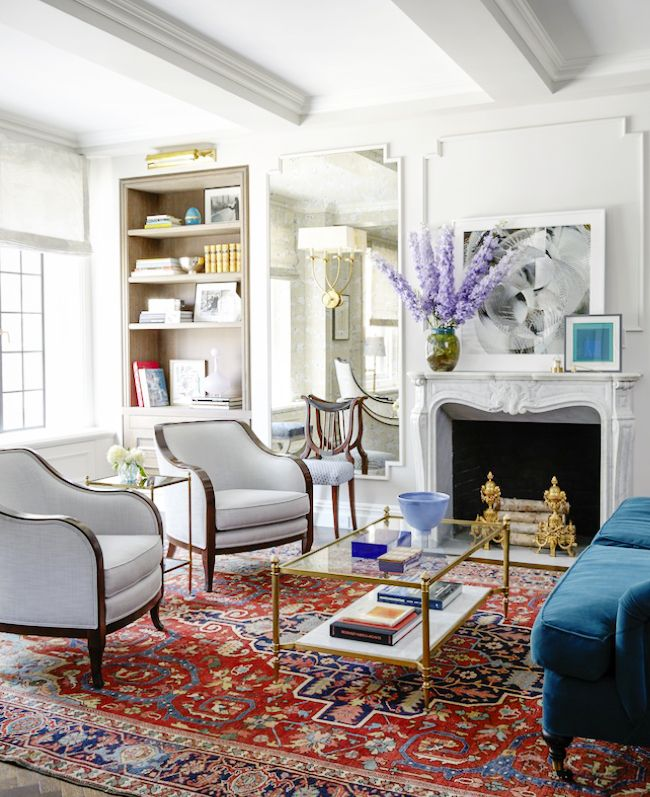 A Modern Take On Traditional Glam Emmy Rossum S Nyc Apartment