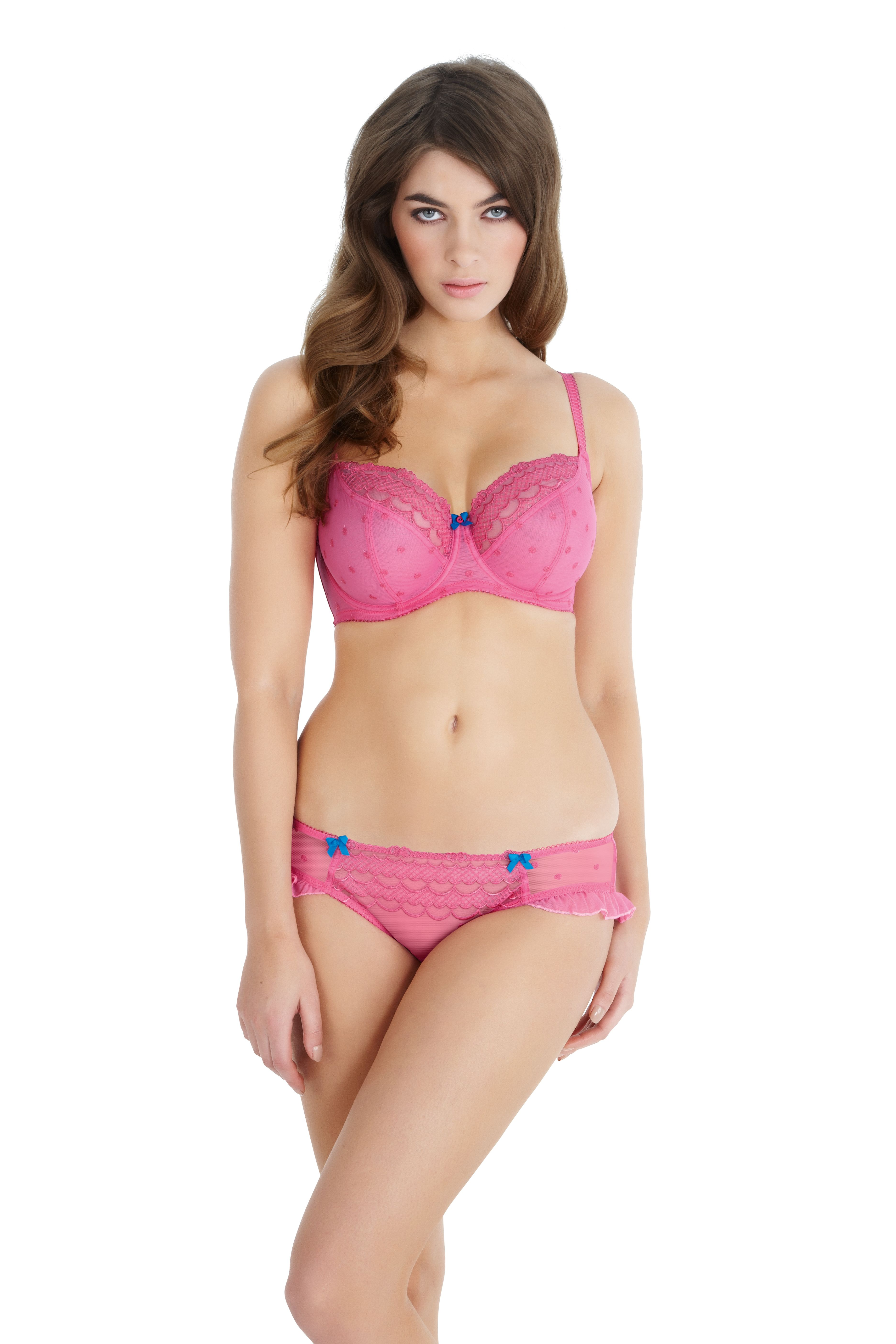 87a413607f7e5 Cleo Marcie in Candy Pink #pink #cleo http://www.panache