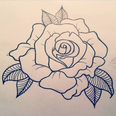 Image Result For Rose Tattoo Designs Rose Tattoo Design Flower Drawing Flower Tattoos