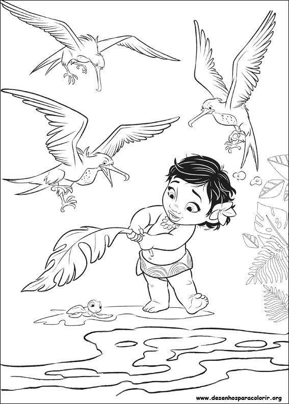 Desenho para imprimir ! | Coloring pages | Pinterest | Moana ...