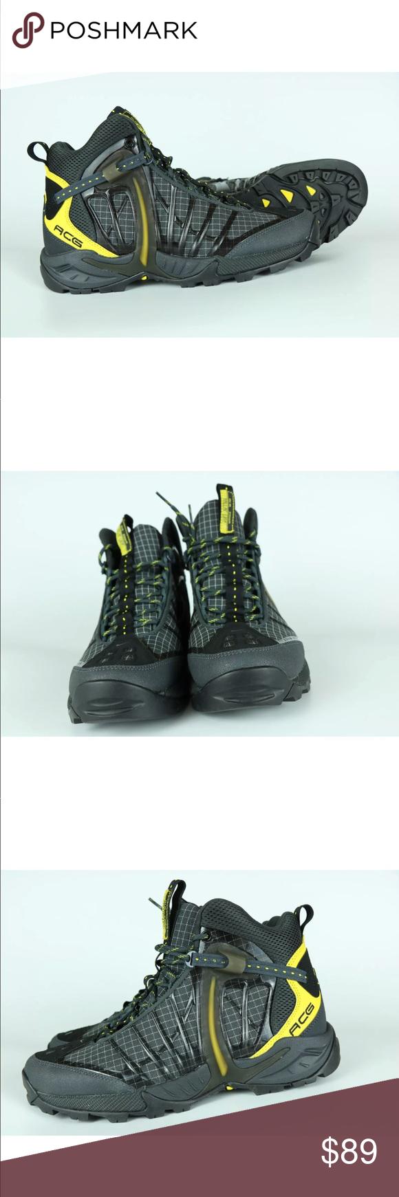 e013cdeffad8 Nike ACG Air Zoom Tallac Lite Hike Boot Blk Yellow Nike ACG Air Zoom Tallac