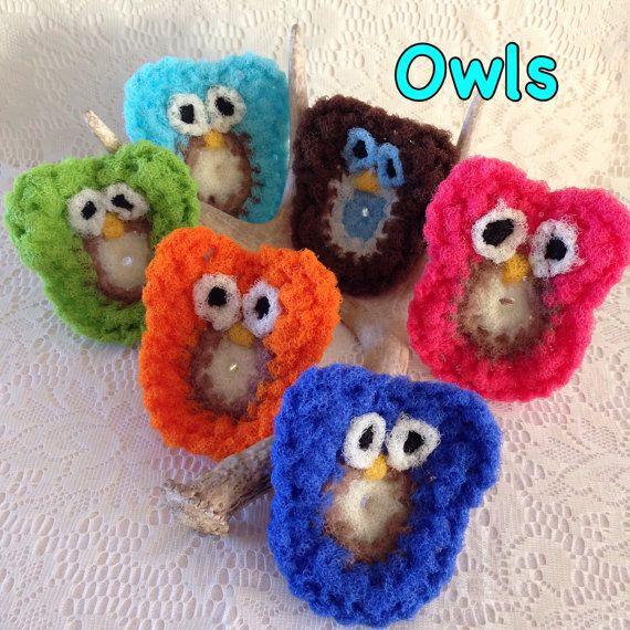 2 Owl Nylon Pot scrubber, Dish Scrubber, Kitchen Pot Scrubbers, Dish ...