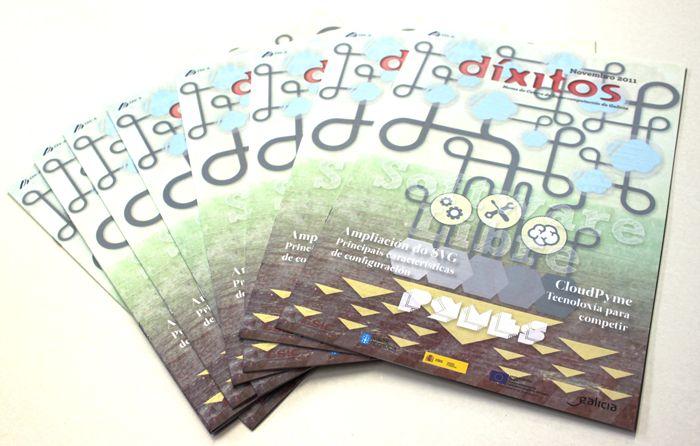 Revista Díxitos para CESGA. Noviembre 2011.