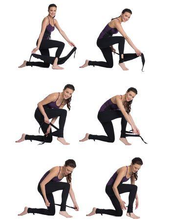 wrap around pant  pilates pants workout pants workout
