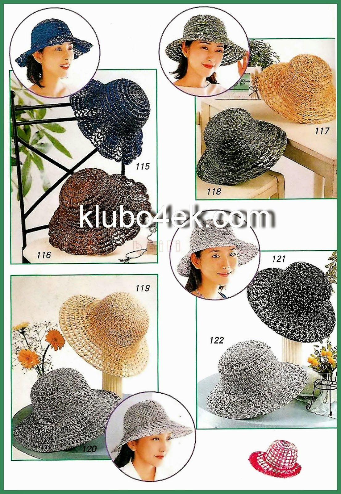 Elegantes sombreros de dama al crochet | Accessories | Pinterest ...