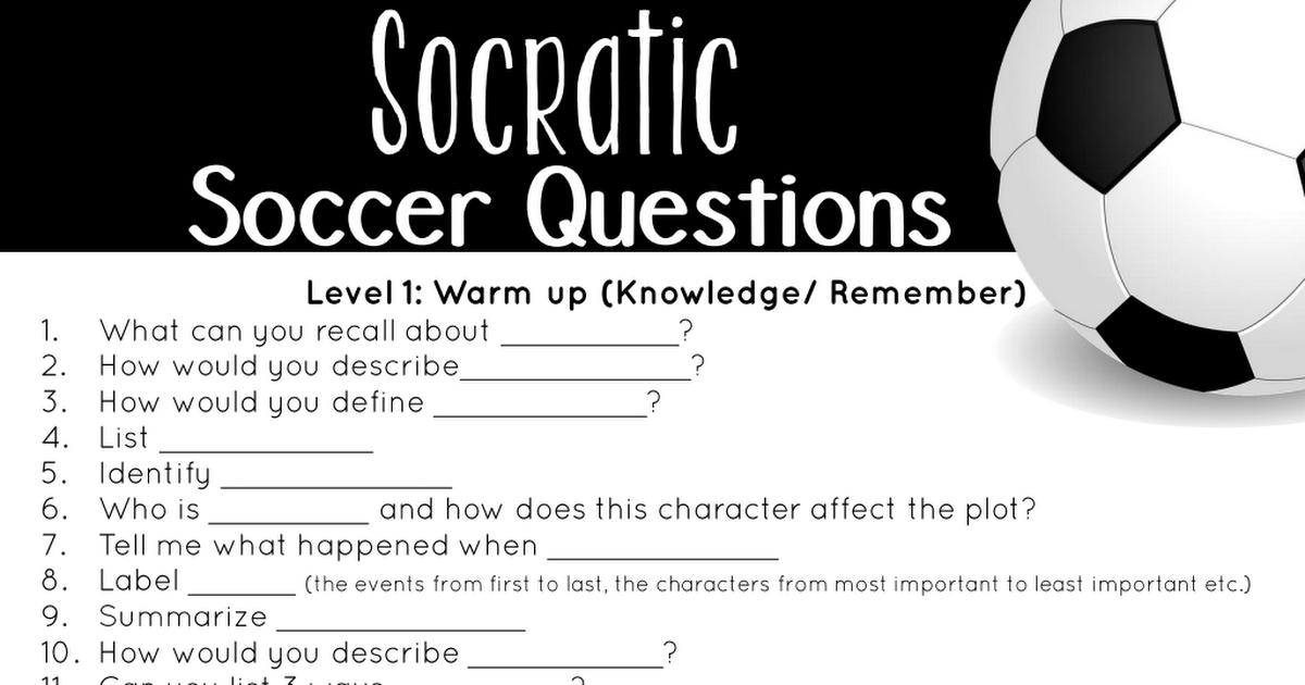 Socratic Soccer Ball pdf | Other stuff | Soccer ball, Soccer
