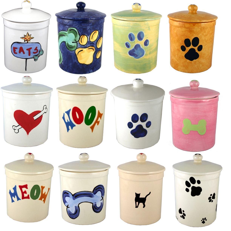Medium Of Dog Treat Jar