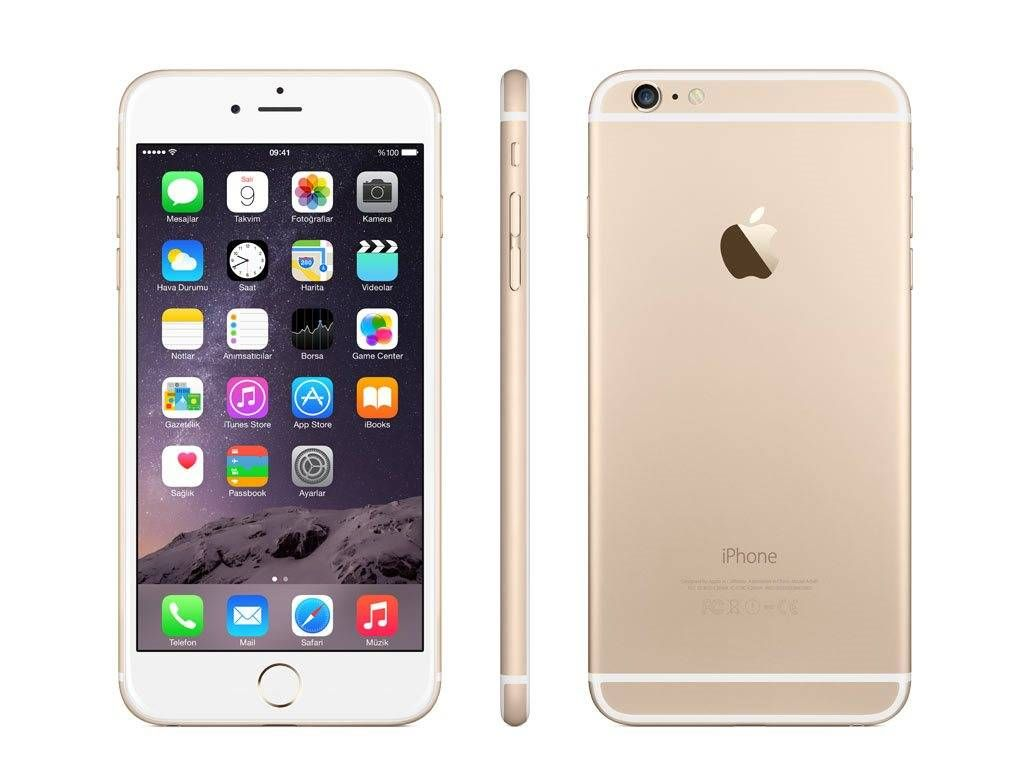 Apple Iphone 6 Plus 128 Gb Gold Grey Price Review And Specs Shop Online In Uae Dubai Abu Dhabi Iphone Iphone 6 Plus Unlocked Apple Iphone 6