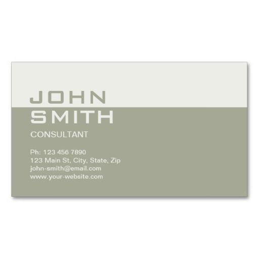 Professional Elegant Simple Plain Attorney Beige Business Card Templates