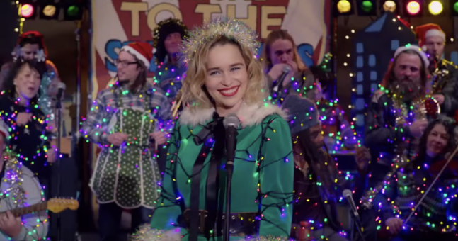 Emilia Clarke sings Wham! classic in new trailer for