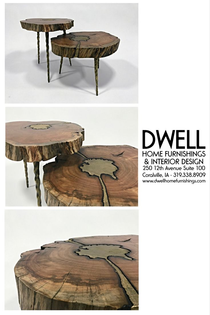 Molten Wood Side Tables Furnishings Side Table Wood Interior Design