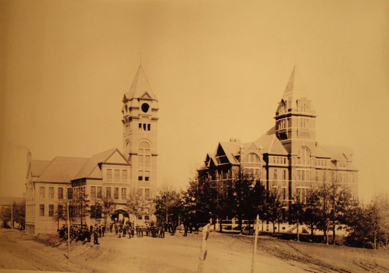Tech campus, c. 1892. The Institute of