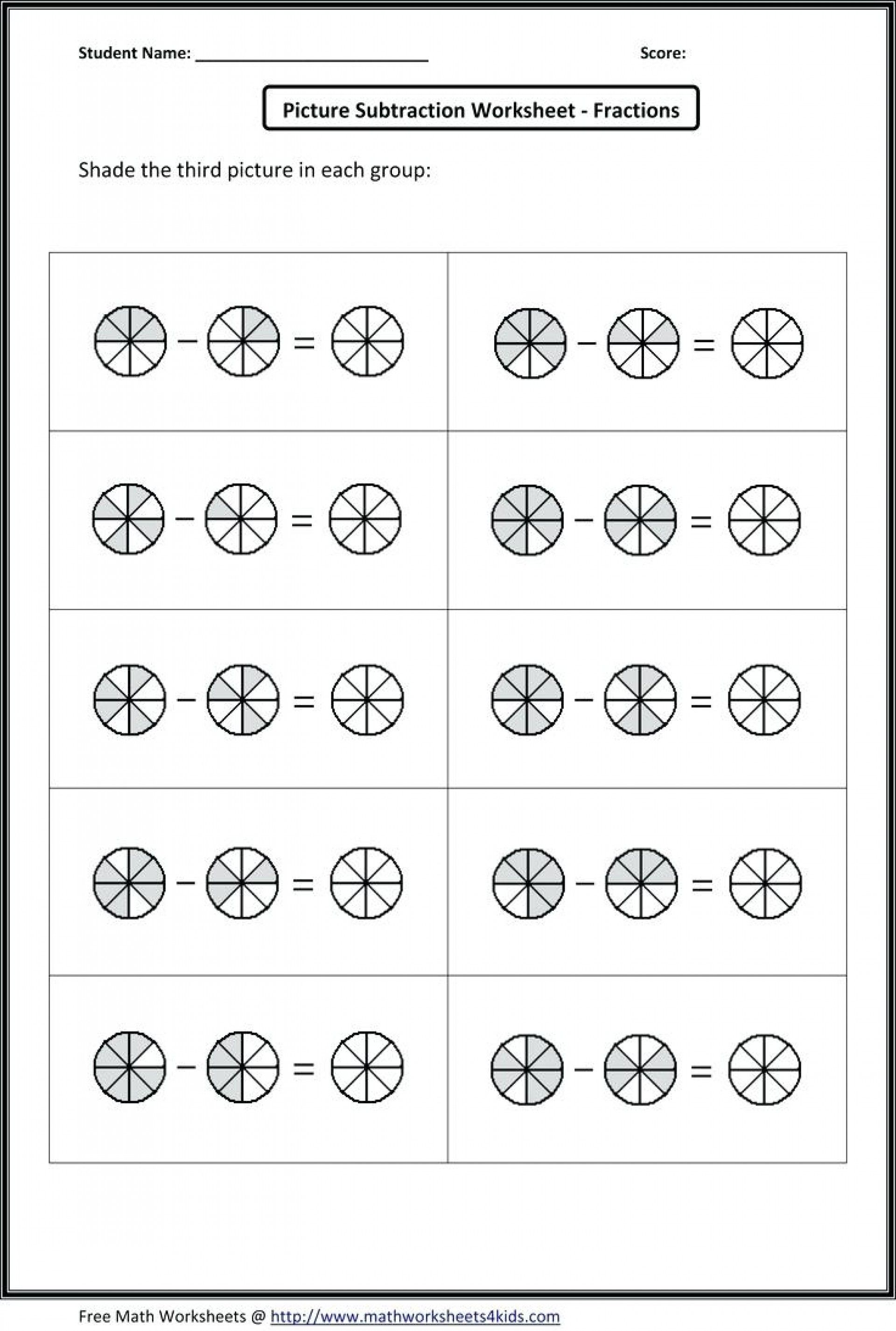 Adding Fractions Worksheets Adding Fraction Worksheets