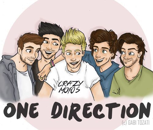 One Direction versión caricatura #onedirection2014 One Direction versión caricatura #onedirection2014