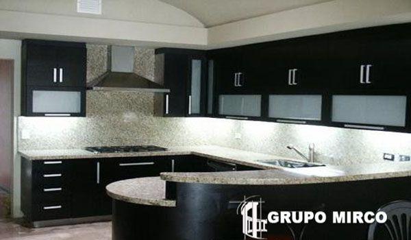 Cocinas IntegralesCristalesAluminioFijacion PuntualGrupo Mirco - Imagenes De Cocinas