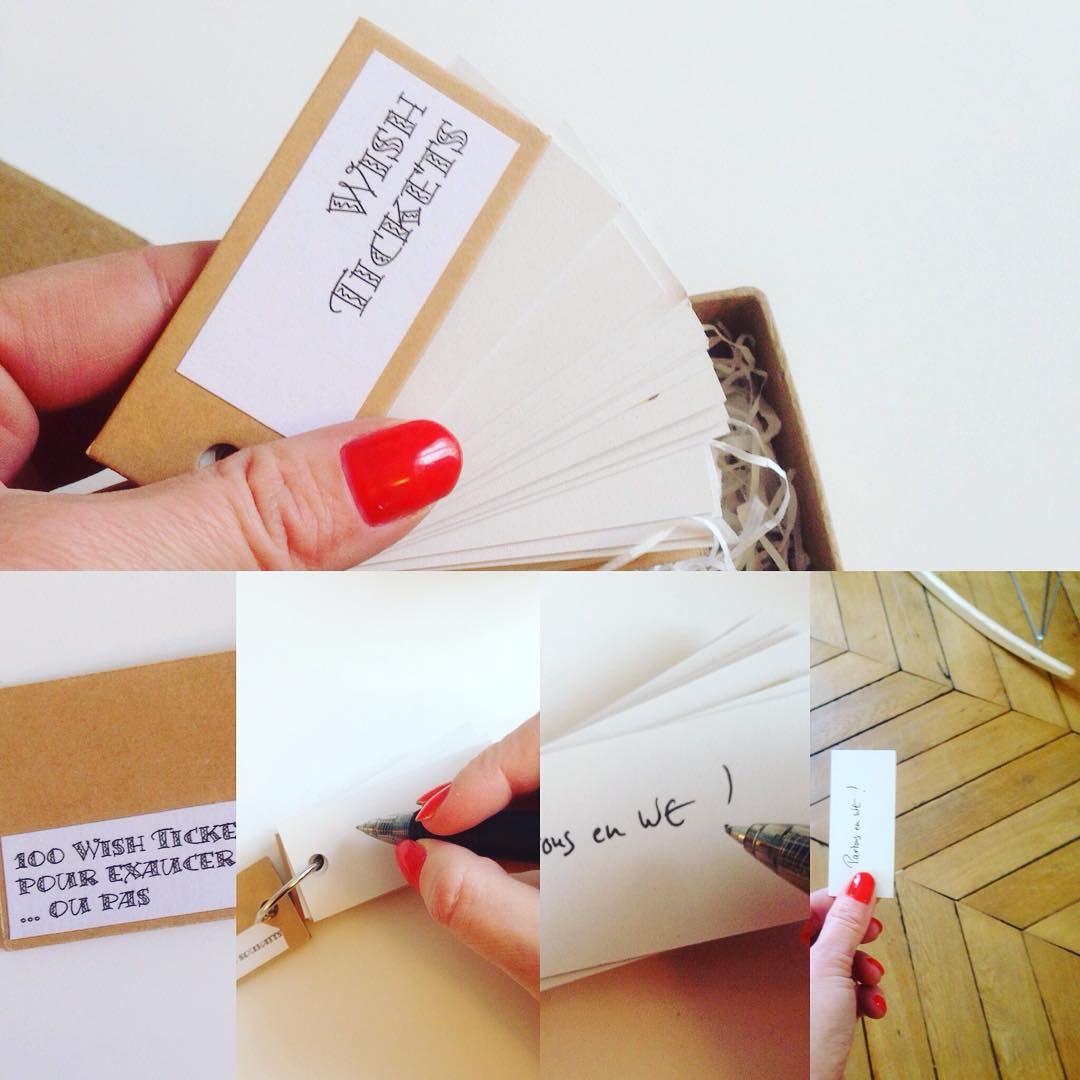 Wish Ticket Manual #lovelypenelope #messageinabottle #personnaliseyourmessage…