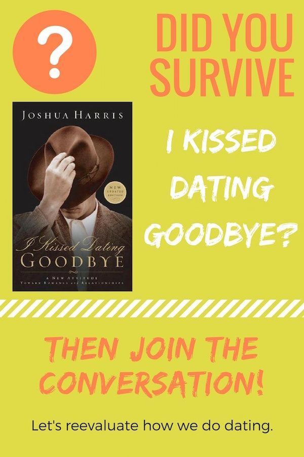 I kissed dating goodbye christian book
