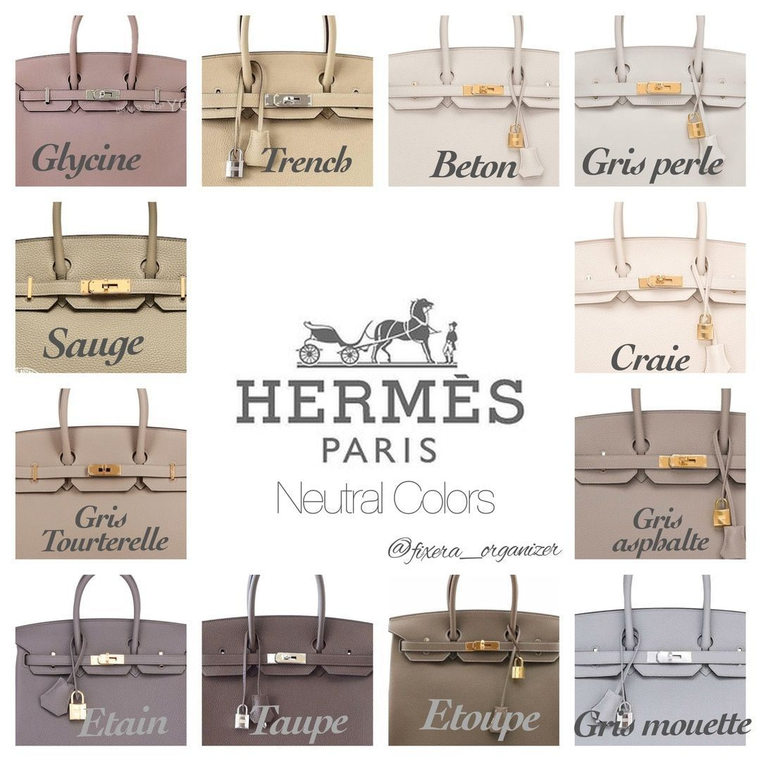 The most common Hermes colors  How it looks  HeyCh  The most common Hermes colors  How it looks  HeyChenny  The most common Hermes colors  How it looks  HeyChenny