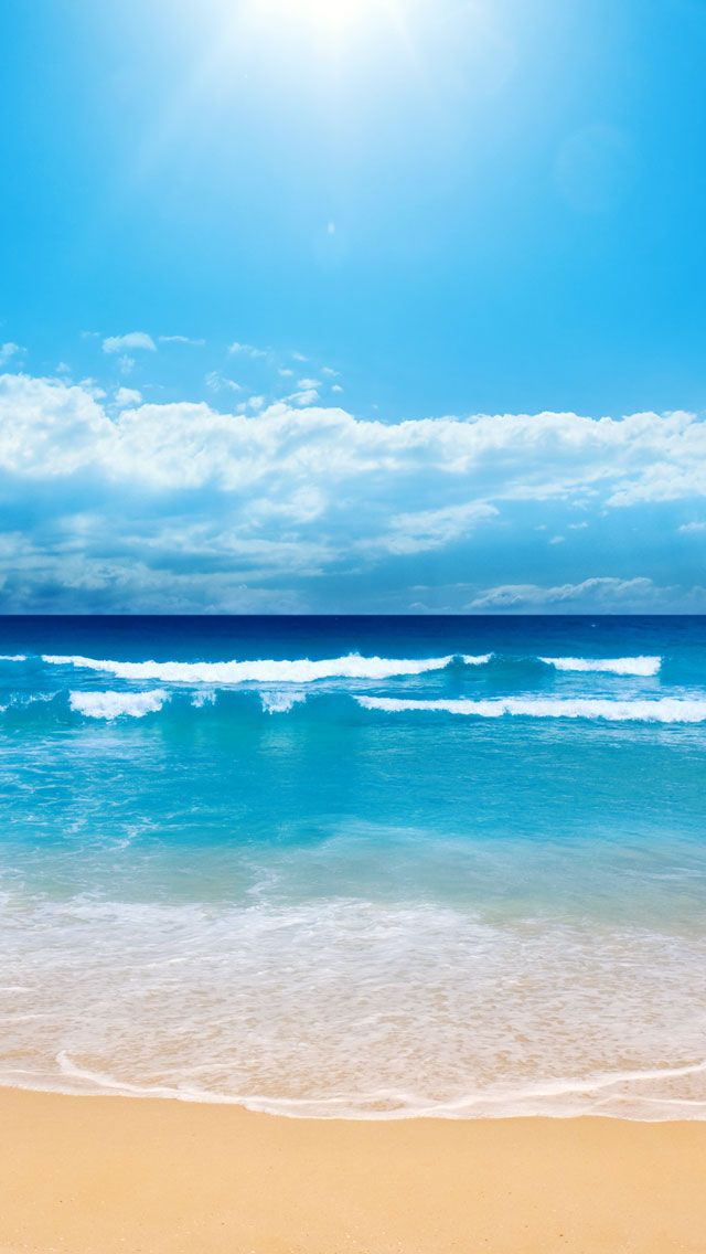 Beach Sand Iphone 5 Iphone Wallpapers Hd 癒し系 Pinterest